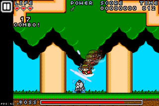 NinjaStriker!画面1.png